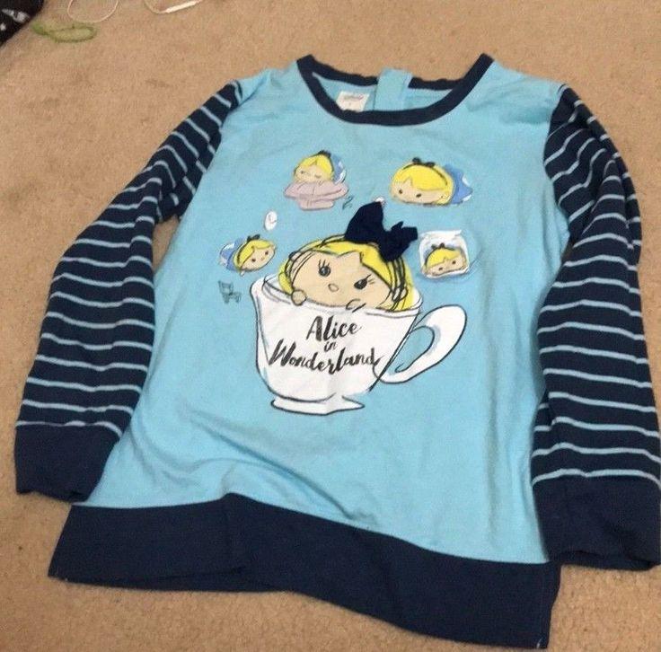 Disney Store Alice in Wonderland Long Sleeve Women's Small