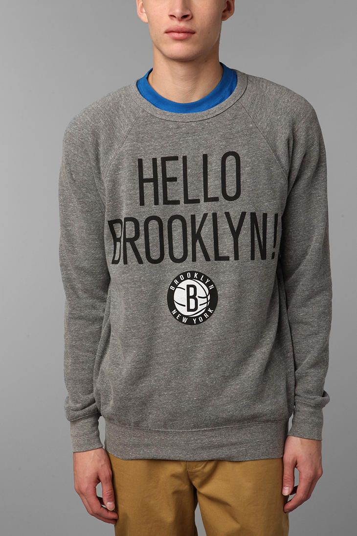 Sportiqe Hello Brooklyn Pullover Sweatshirt - Urban Outfitters