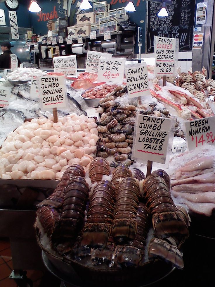 Pike Place Market  Today Lunch at the Pub 2nd floor then to market to check it out