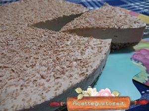 Cheesecake pandoro e cioccolato