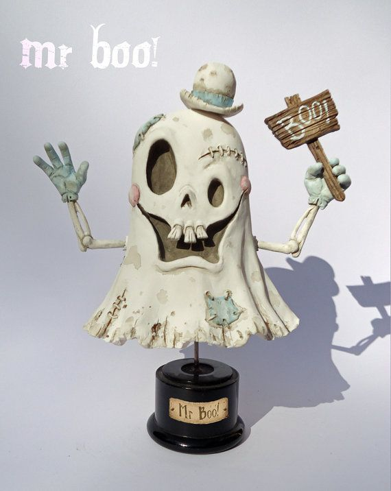 Mr Boo by PickledCircus on Etsy
