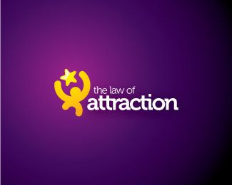 The Law of Attraction #Logo #design #star