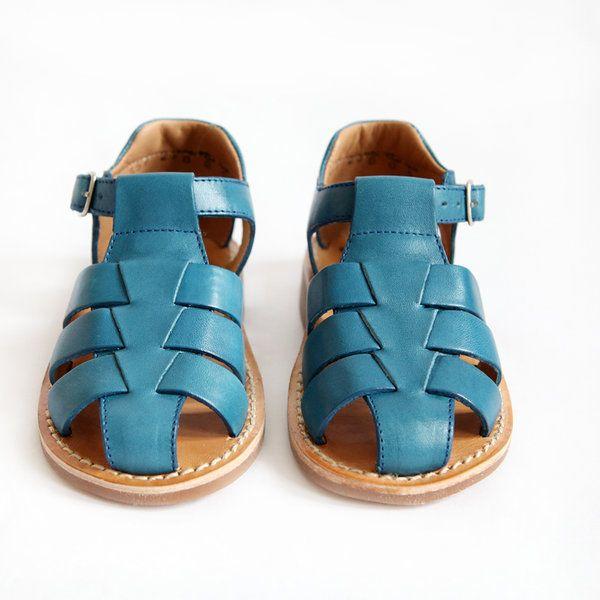 YAPO PAPY BOY SANDAL BLUE - der kleine salon