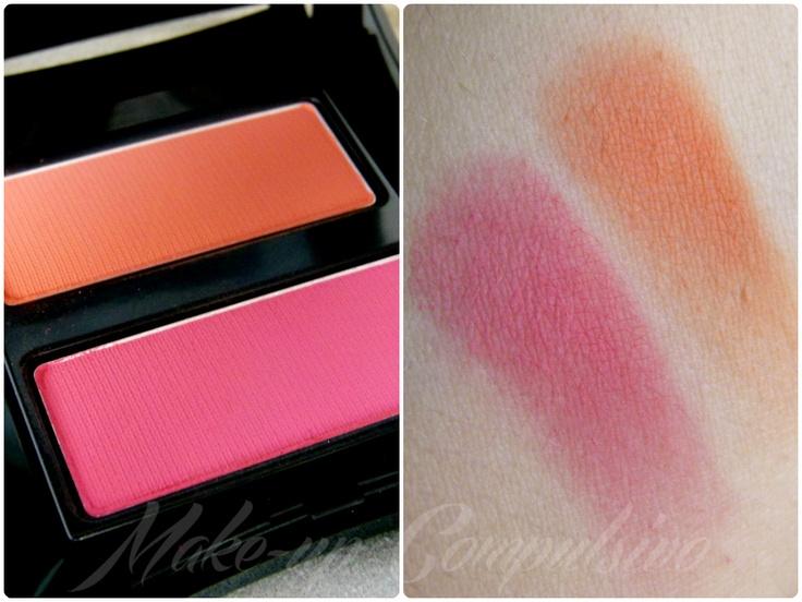 Make-up compulsivo: Illamasqua Powder Blusher Duo in Lover/Hussy