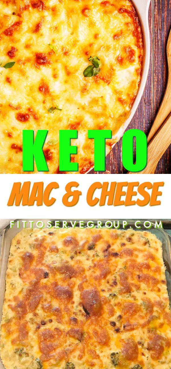 This Recipe For Keto Cauliflower Mac And Cheese Is The Perfect