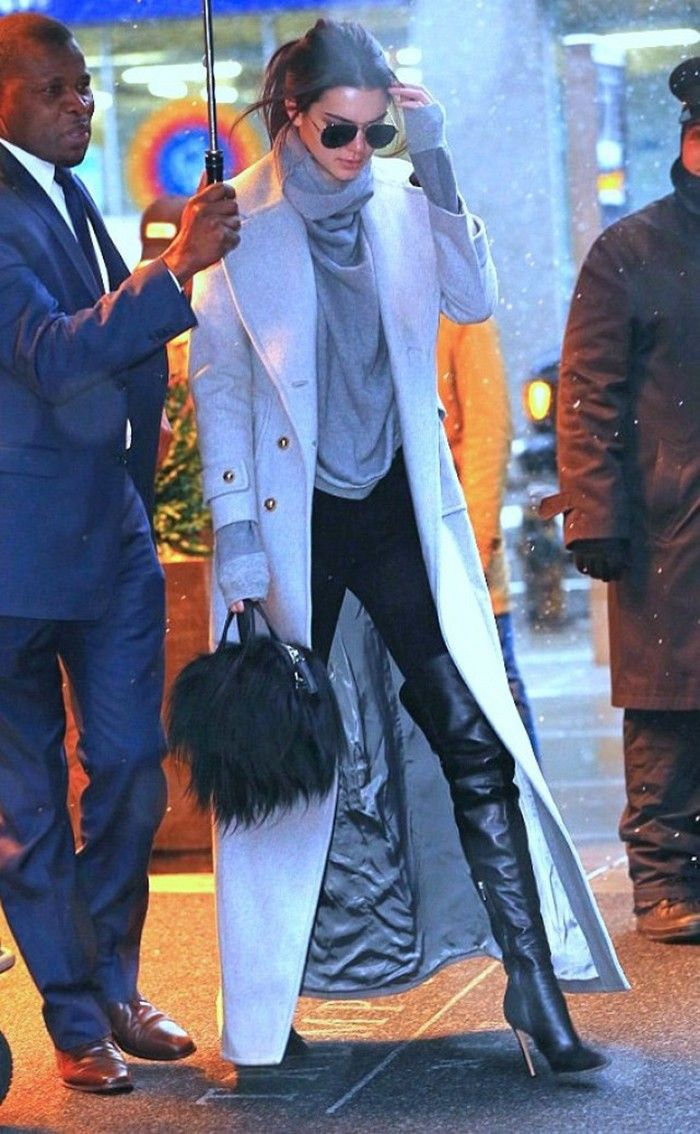 Kendall Jenner Loves This Zara Styling Trick via @WhoWhatWear