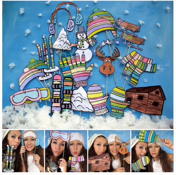 mountain photo booth props  perfect for your by thepartyevent, $13.99