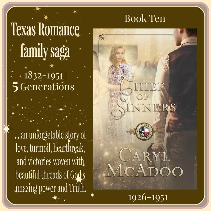 My Interview with Caryl McAdoo author of the Texas Family Romance Stores series