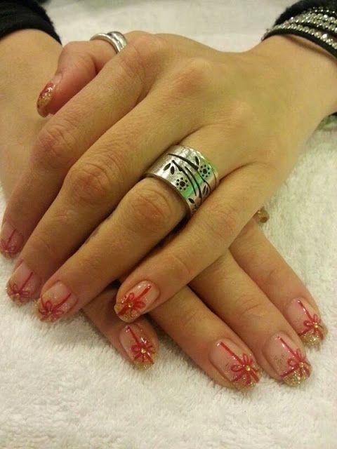 Nail Art: unghie natalizie - Christmas nail art