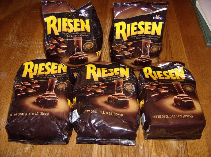 Chocolate 38174: Lot Of 5 30Oz Bags Riesen Chocolate Caramel Covered European Candy,Storck -> BUY IT NOW ONLY: $70 on eBay!