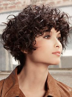 curly wedge hairstyles