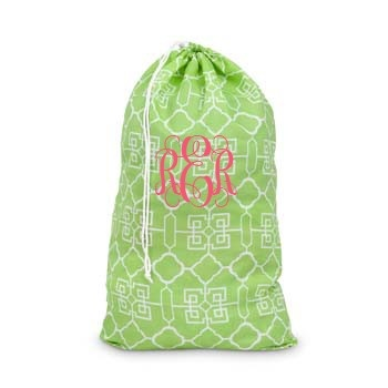 Monogrammed Laundry Bag Great College Gift Idea
