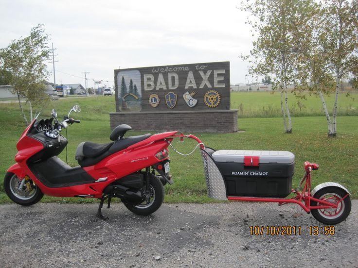 Pull Behind Motorcycle Trailer 5