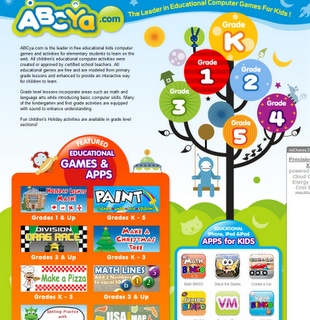 ABCya.com: Free educational kids computer games and activities for elementary students to learn on the web.