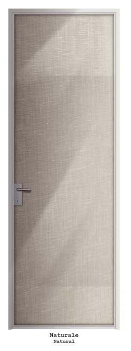 Anta singola battente Mod.Naturale_Collezione TESSUTI Single hinged door Mod.Natural_FABRICS Collection di #MRartdesign