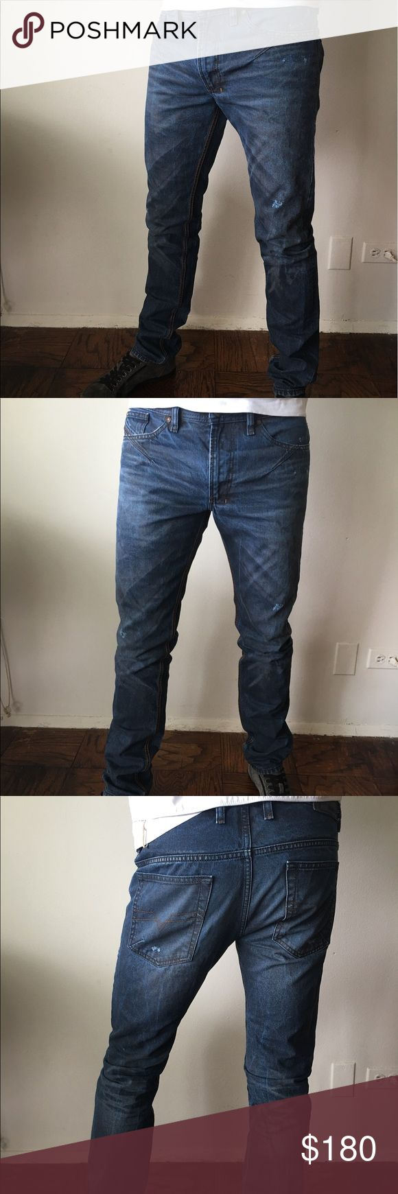 Jeans Men's jeans Diesel Black Gold Diesel Black Gold Jeans Straight