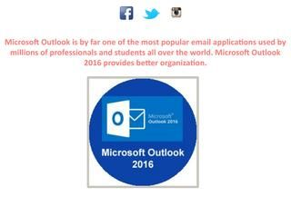 Microsoft Outlook 2016 Course  Microsoft Outlook is by far one of the most popular email applications used by millions of professionals and students all over the world. Microsoft Outlook 2016 provides better organization , http://www.e-learningcenter.com/courses/microsoft-outlook-2016/