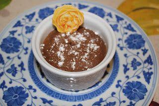 El mundo culinario de Cris: dulces - mousse de chocolate