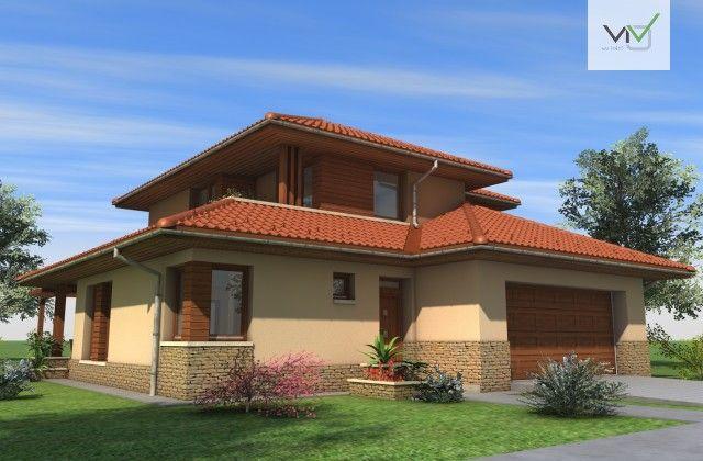 Emeletes családi ház 185 m2