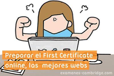 Preparar el First Certificate online, las mejores páginas web