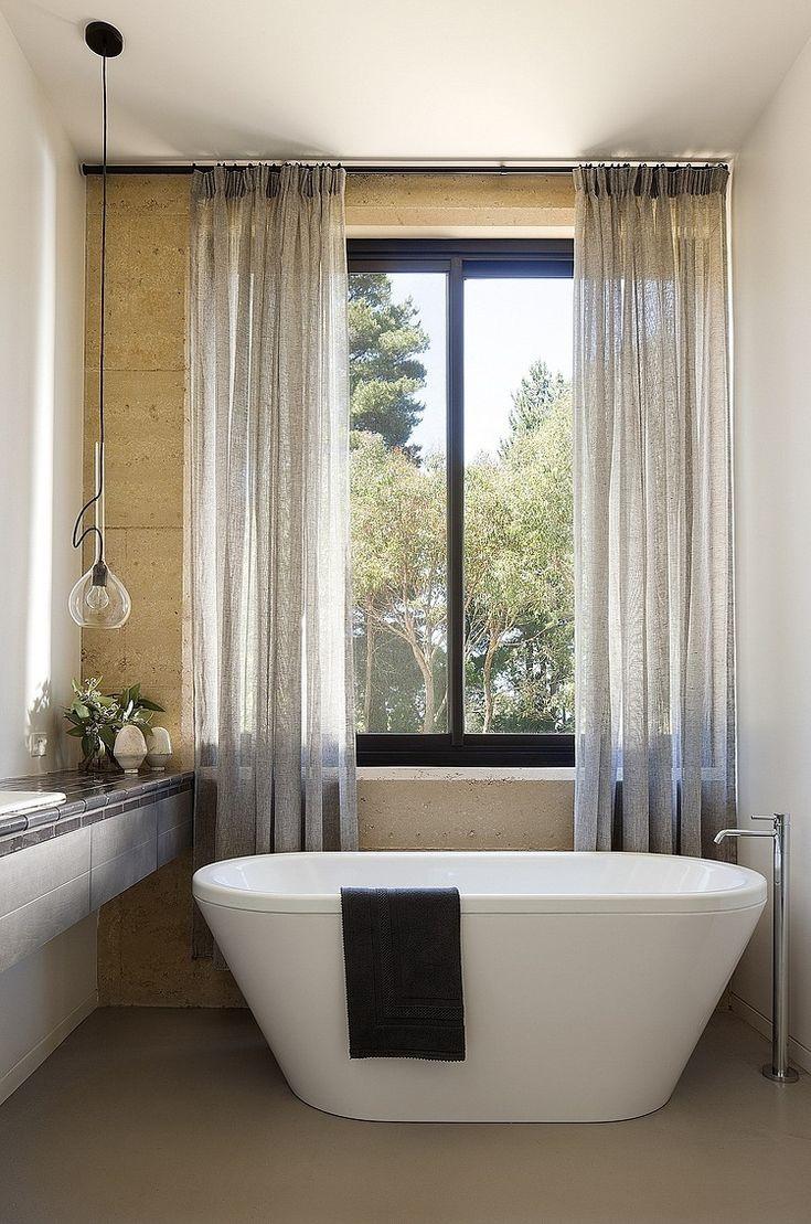 Shawn mccune kitchen design gallery - Serene Bathroom With Freestanding Bathtub By Robson Rak Architects