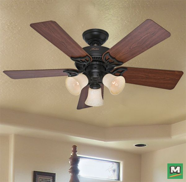 Hunter Morelli 52 Led Brushed Nickel Ceiling Fan At Menards: 36 Best Fantastic Fans Images On Pinterest