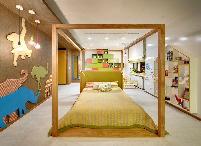 moscow apartment created for a young family moscow apartment young family kids room