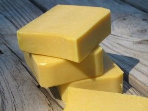 Buttermilk soap bar for sensitive baby skin.
