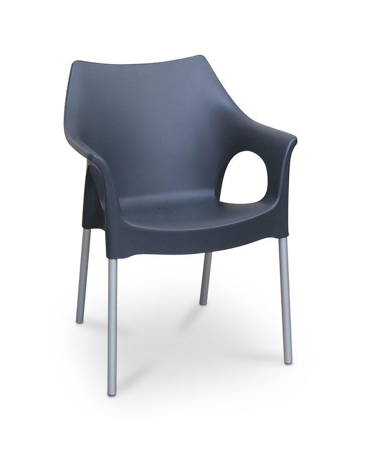 Ola armchair - anthracite