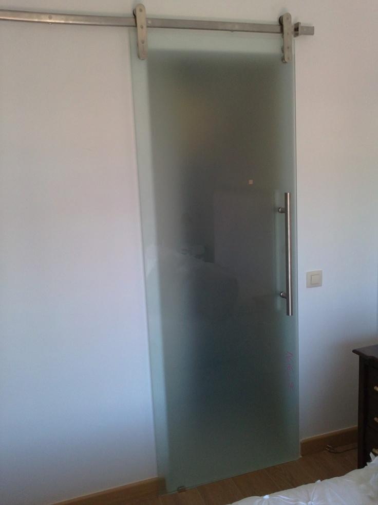 74 best puertas correderas images on pinterest sliding for Puertas correderas de cristal