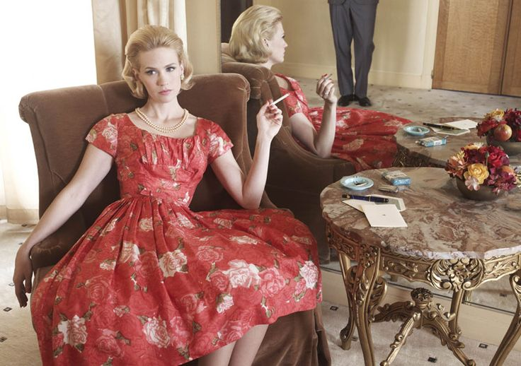 Betty:  Meat Marketing, Butcher Shops, January Jones, Vintage, Mad Men'S Styles, Madmen, Betty Draper, The Dresses, Mad Men'S Fashion