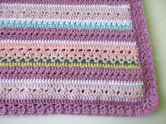 Fantasy crochet baby blanket patternPretty by BlageCrochetDesign
