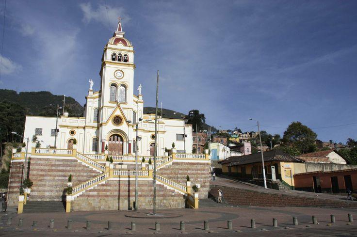 Colombia - Iglesia en el barrio Egipto, Bogotá D.E. Cundinamarca.
