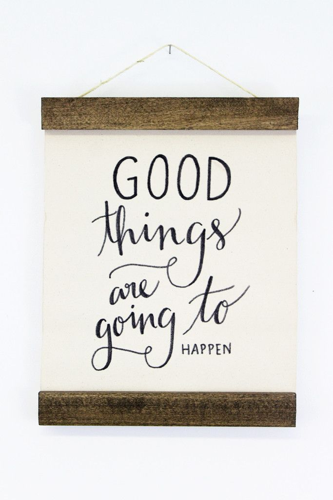 Good Things Wall Hanging | Moorea Seal