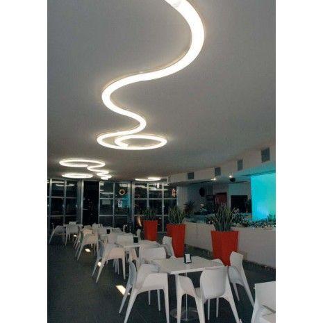 Antonangeli Nonstop Big Modules Plafondlamp wit - Plafondlampen - Binnenverlichting