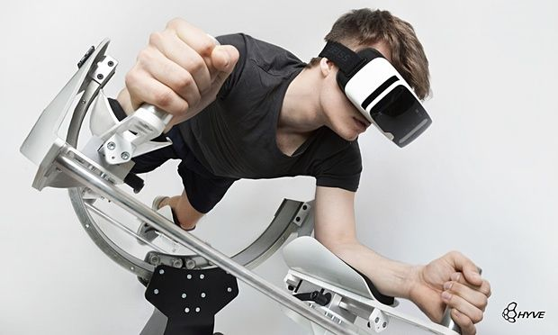 Virtual reality gym brings all the benefits of a strenuous workout   A new device called Icaros pairs with a VR headset to give physical activity a digital edge. [Virtual Reality: http://futuristicnews.com/tag/virtual-reality/ VR Headsets: http://futurist