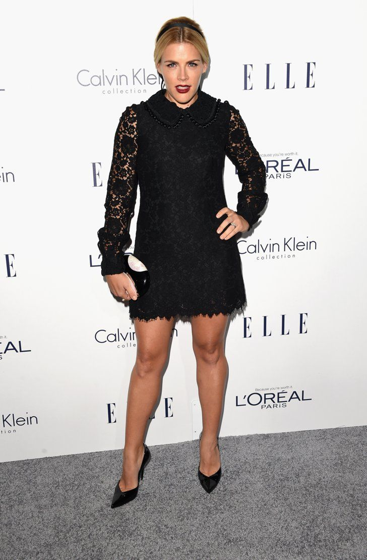 Pin for Later: Hollywood's Leading Ladies Gather For Elle's Annual Soirée Busy Philipps