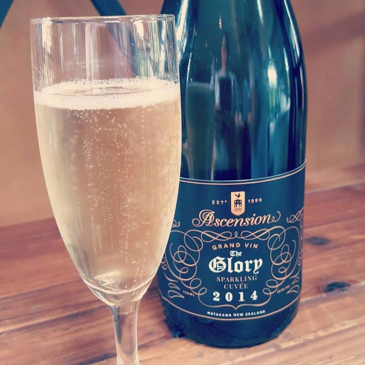 Drop in to Ascension to try our Sparkling Cuvée - The Glory. Free tasting when you buy a bottle. Perfect Xmas gift idea