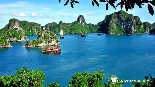 Halong Bay in summer time