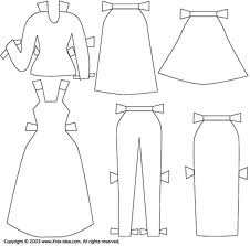 19 best not your li'l sis' paper dolls, Monday 9-16 images
