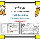 Don't miss out on this bundled set! I have put the 2nd grade Math See  Dos (180 days) and the 2nd Grade Place Value Brain Busters (180 days) into o...