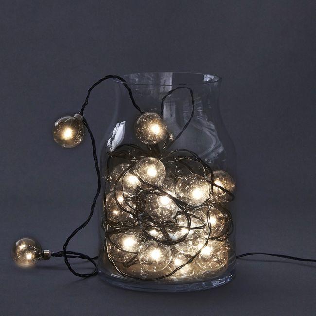 Smuk lyskæde med LED pærer. Stort udvalg i lyskæder