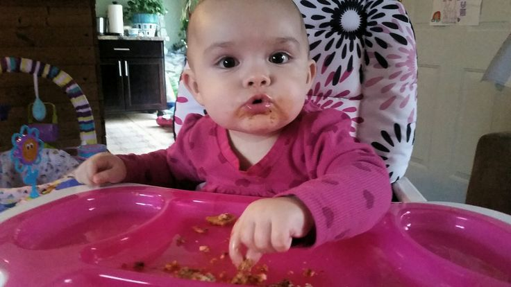 My baby daughter enjoying her Cannaloni with us!