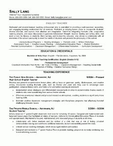 English Teacher Resume Example  Teacher Resumes