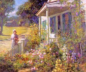 Summer Garden  Abbott Fuller Graves