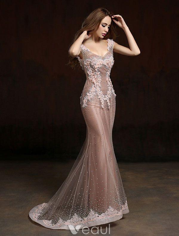Robe soiree longue luxe