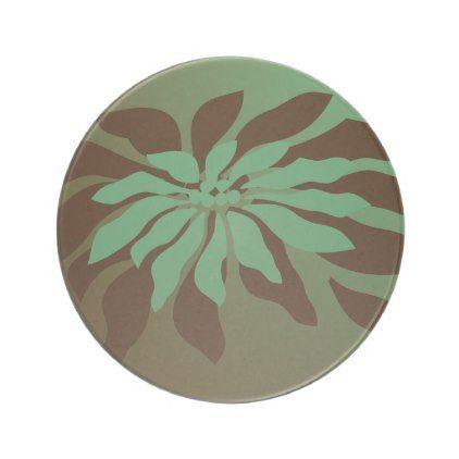 Modern Christmas Poinsettia Drink Coaster - holidays diy custom design cyo holiday family