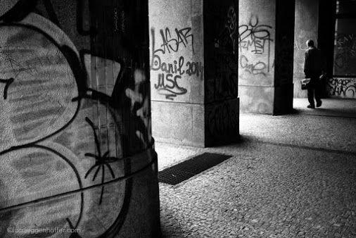 Escape through prison bars of passageway | Prague, Czech Republic |  © lucia eggenhoffer