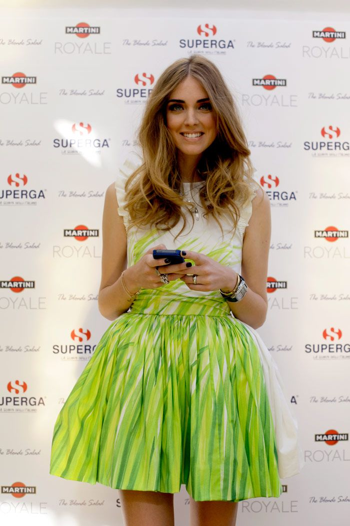 Superga for The Blonde Salad: the event