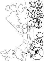 Angry Birds coloring pages - free printable for kids #7